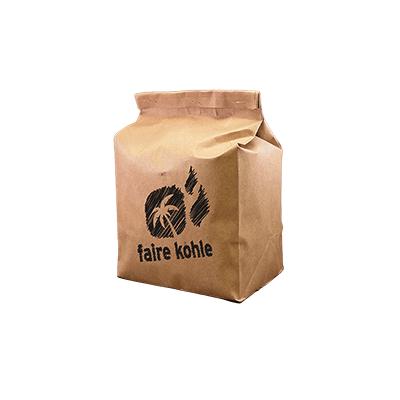 Faire Kohle Kokosnussbriketts kaufen kleines Paket bestellen