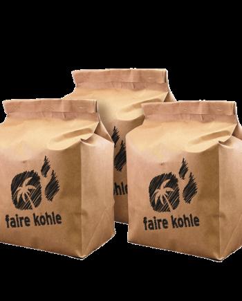 Faire Kohle großes Grillpaket 6 x 2 kg Faire Kohle kaufen