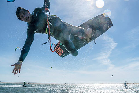 Marc Toth Kiteboarding Superheld