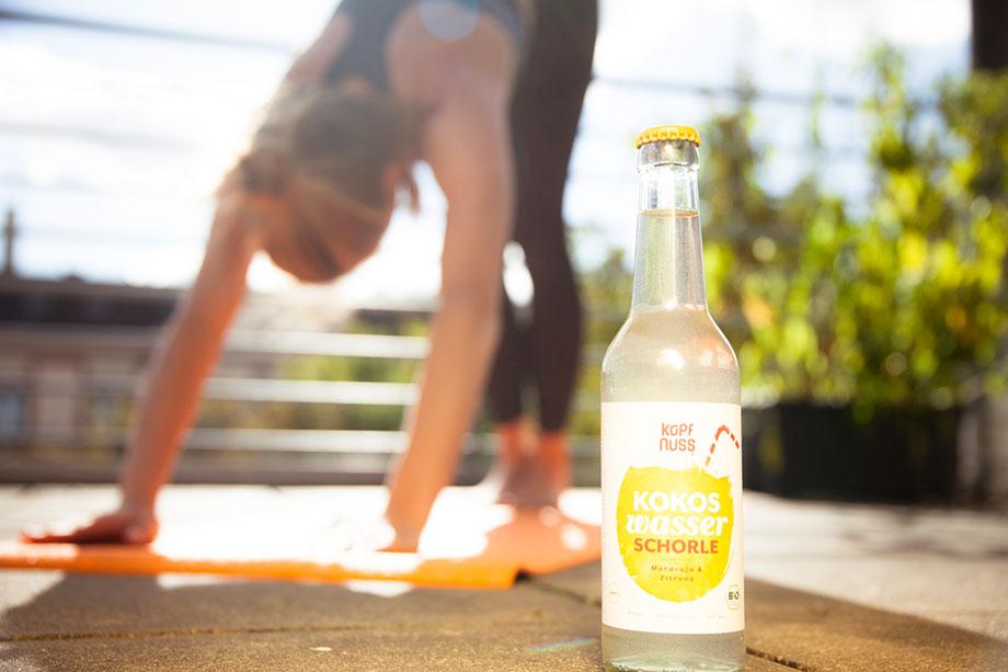 Kokoswasser Sport - Kokoswasser als perfektes Sportgetränk